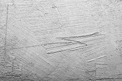 Gray walls of concrete Royalty Free Stock Photo