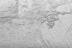 Gray walls of concrete Stock Images