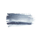 Gray watercolor brush strokes with space for your own text. Wet brush stroke on paper texture. Dry brush strokes. Abstract composition for design elements vector illustration