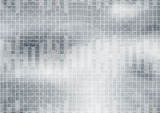 Gray wave abstract background vector Stock Photo