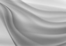 Gray wave abstract vector background Stock Photos