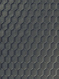 Gray wave band abstract surface pattern. 3d rendering Stock Photography