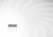 Gray wave and curve abstract vector background Royalty Free Stock Photos