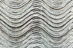 Gray wavy background with lots of texture Stock Photos