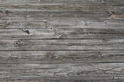 Gray Weathered Wood Planking Arkivfoton
