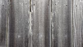 Gray Weathered Wooden Fence for Background or Wallpaper Stock Image