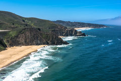Gray Whale Cove State Beach, la Californie Photographie stock libre de droits