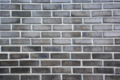 Gray and white brick wall background. Royalty Free Stock Photos