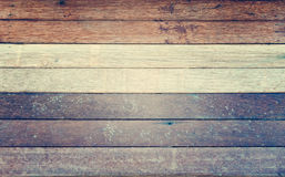 Gray white brown wood wall texture background - vintage filter style Stock Image