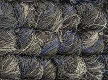 Gray and white carpet fibers royalty free stock photos
