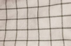 Gray and White Checked Napkin Pattern Background Royalty Free Stock Image