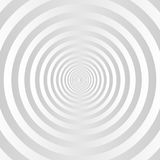 Gray and white concentric circles background. Vector vector illustration