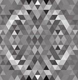 Gray White Grid Mosaic Background, Creatieve Ontwerpmalplaatjes royalty-vrije illustratie