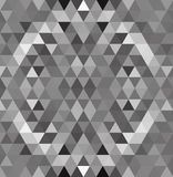 Gray White Grid Mosaic Background idérika designmallar royaltyfri illustrationer