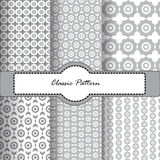 Gray and White Pattern Royalty Free Stock Photos