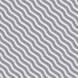 Gray and white wavy lines meshed pattern. Royalty Free Stock Photos