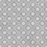 Gray and White Wheel of Dharma Symbol Tile Pattern Repeat Backgr Royalty Free Stock Image
