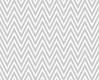 Gray and White Zigzag Textured Fabric Repeat Pattern Background Stock Photography