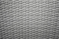 Gray wicker furniture surface. Background texture Stock Images