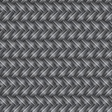 Gray Wicker Seamless Pattern Photographie stock libre de droits