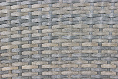 Gray wicker woven texture Royalty Free Stock Photos