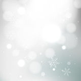 Gray winter background Stock Photography