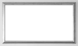 Gray Wood-Rahmen stockbild