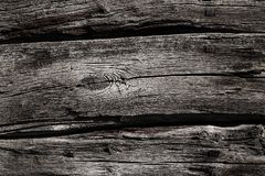 wood texture of decking on a fishing platform Royalty Free Stock Images