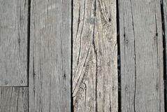 Gray wood  wall Stock Images
