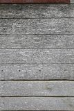 Gray wooden boards Stock Images