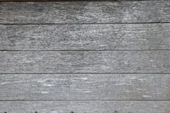 Gray wooden boards Stock Photography