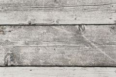 Gray wooden dock. Overhead view of old gray wooden dock Royalty Free Stock Photos