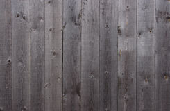 Gray wooden fence Royalty Free Stock Photography