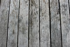Gray Wooden Flooring Royalty Free Stock Image