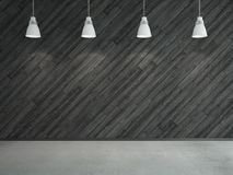 Gray wooden laminate Royalty Free Stock Image