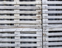 Gray wooden lattice close-up Royalty Free Stock Photo