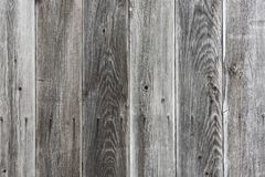 Gray wooden slats. As a background Royalty Free Stock Photography