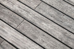 Gray wooden table detailed background texture Royalty Free Stock Images