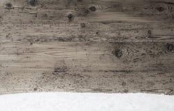 Gray Wooden Texture, fond avec l'espace de copie, neige photos libres de droits