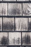Gray wooden tiles texture royalty free stock photography