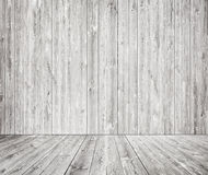 Gray wooden wall texture with old pine, fir floor Stock Image