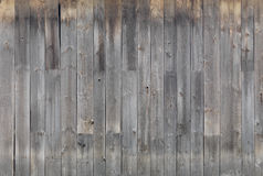 Gray wooden wall texture Royalty Free Stock Photography