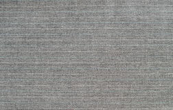 Gray wool striped fabric Royalty Free Stock Photo