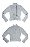 Gray Wool Sweater Royalty Free Stock Photography