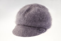 Gray woolen hat Royalty Free Stock Photo