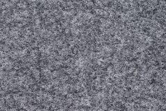 Gray woolen texture Royalty Free Stock Photos