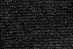 Gray woollen fabric texture (horizontal) Royalty Free Stock Image