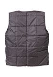 Gray working winter vest. Stock Photography