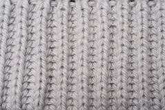 Gray Woven Fabric Swatch Royaltyfri Foto