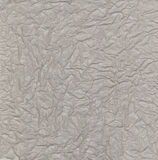 Gray wrinkled paper Stock Images